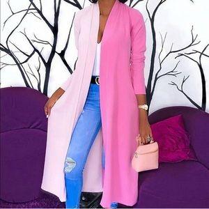 Sweaters - Maxi Color Block Cardigan!! Ripeness